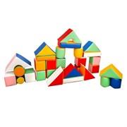 Детский игровой строительный конструктор, 30 элементов