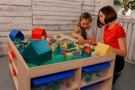 """Дидактический стол с комплектом развивающих пособий (игровой  """"Ландшафт"""")"""