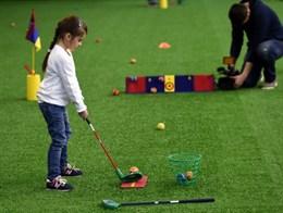 Набор для гольфа малый (детский сад)