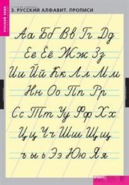 Комплект таблиц- Русский алфавит