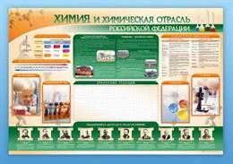 """Стенд-уголок """"Химия и химическая отрасль Российской Федерации"""""""