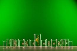 Комплект стаканов химических стеклянных (15 шт.)