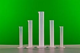 Комплект мерных цилиндров пластиковых (5 шт.)