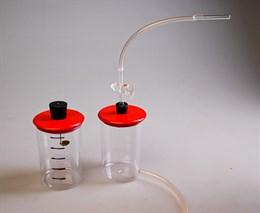 Прибор комбинированный (аспиратор и прибор для определения состава воздуха)