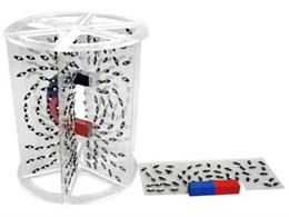Модель для демонстрации  в объеме линий магнитного поля