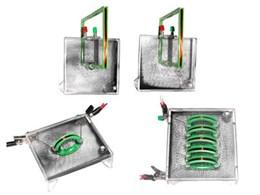Набор для демонстрации спектров магнитного поля тока