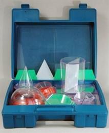 Набор прозрачных геометрических тел с сечениями (разборный)