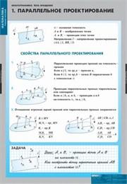 Комплект  таблиц  Многогранники. Тела вращения