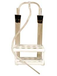 Прибор для сравнения содержания СО2 во вдыхаемом и выдыхаемом воздухе