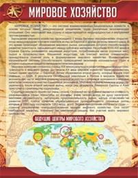 Стенд Мировое хозяйство