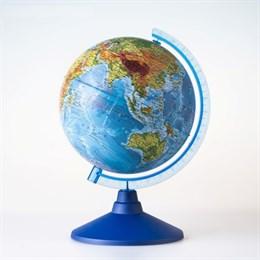 Физический глобус диаметром 210 мм