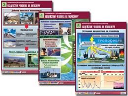 Комплект таблиц по географии «Геоэкология и природопользование»