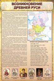 Стенд Возникновение древней Руси