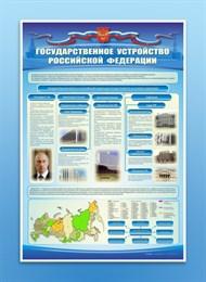 """Стенд """"Государственное устройство Российской Федерации"""""""