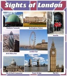 Стенд Sights of london