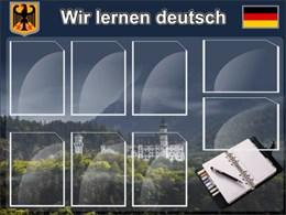 Стенд Мы изучаем немецкий