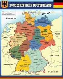 Стенд Карта Республики Германии