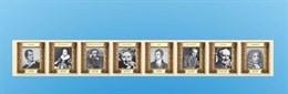 """Стенд-лента """"Выдающиеся писатели и деятели культуры стран изучаемых языков"""" (Германия)"""