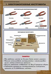 ТЕХНОЛОГИЯ Электротехнические работы