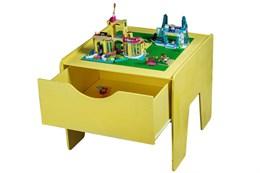 Lego-стол с выдвижным ящиком + полотно