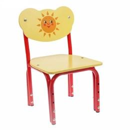 """Детский стульчик """"Кузя. Солнышко"""", регулируемый"""
