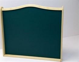 """Двухсторонняя панель для игровых зон """"Меловая и магнитно-маркерная доска"""""""