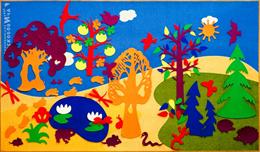 """Развивающая среда """"Фиолетовый лес"""" (1,5х2,5 м, ковролин)"""