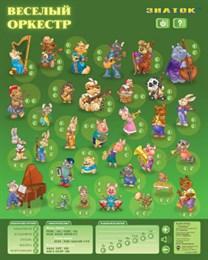 Электронный озвученный плакат «Весёлый Оркестр»