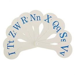 Касса-веер английские согласные буквы