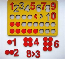 Кружки и цифры (планшет)