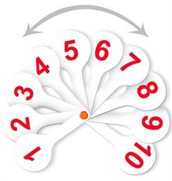 Касса (веер) цифры от 1 до 20 прямой и обратный счет