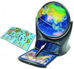 Интерактивный глобус с голосовой поддержкой