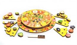 Пицца - игровой набор (54 элемента, 5 слоев)