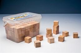 """Игровой набор Фребеля """"Кубики"""" (96 шт., бук, серия """"Красота вокруг нас"""")"""