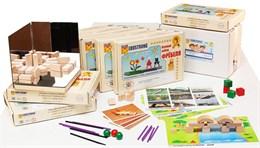 """Игровой набор Фребеля """"Комплект для подготовительной группы"""" (6-7 лет)"""