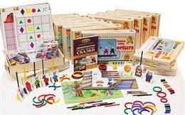 """Игровой набор Фребеля """"Комплект для младшей группы"""" (3-4 года)"""