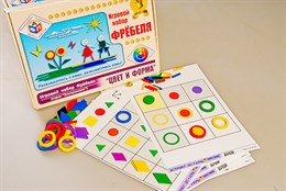 """Игровой набор Фребеля """"Цвет и форма"""" (серия """"Эксперимент"""")"""