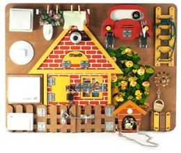 Бизиборд «Загородный дом» со звонком