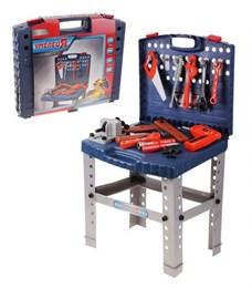 Набор инструментов: столик, чемоданчик, инструменты, с дрелью