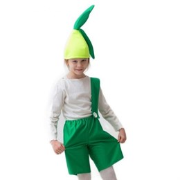 "костюм ""Лучок"", шапка, комбинезон, 5-7 лет, рост 122-134 см"