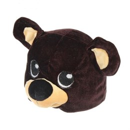 "Шапка ""Медвежонок"" обхват головы 52-57см"