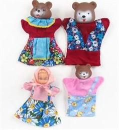 "Кукольный театр ""Три медведя"" (4 куклы)"