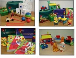 Методика исследования интеллекта ребенка ( чемодан Стребелевой Е.А.) комплект №2 для возраста 3-7 лет