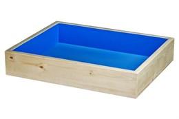 Юнгианская песочница 35*50 для песка и влажного песка + 5 кг песка в комплекте