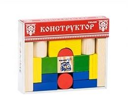 """Конструктор """"Цветной"""" 26 элементов"""