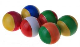 Мяч диаметр 100 мм лакированный с полосой