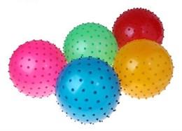 Мяч массажный цветной  d=30 см