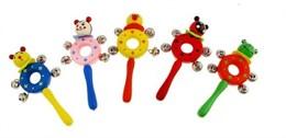 Музыкальная игрушка-бублик с бубенчиками