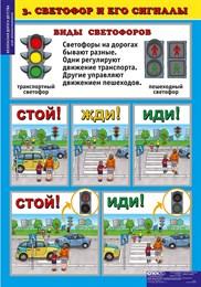 """Комплект таблиц Окружающий мир 5-6 лет. """"Безопасная дорога детства"""""""