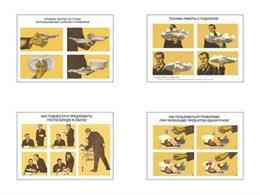 """Плакаты ПРОФТЕХ """"Обслуживание посетителей"""""""